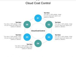 Cloud Cost Control Ppt Powerpoint Presentation Slides Graphics Design Cpb