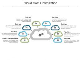 Cloud Cost Optimization Ppt Powerpoint Presentation File Clipart Cpb