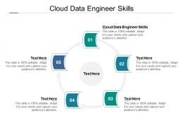 Cloud Data Engineer Skills Ppt Powerpoint Presentation Inspiration Clipart Images Cpb