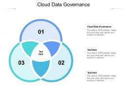 Cloud Data Governance Ppt Powerpoint Presentation Infographic Template Examples Cpb