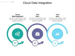 Cloud Data Integration Ppt Powerpoint Presentation Slides Clipart Images Cpb