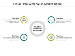 Cloud Data Warehouse Market Share Ppt Powerpoint Presentation Outline Skills Cpb