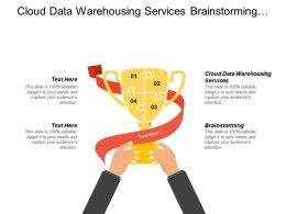 Cloud Data Warehousing Services Brainstorming Online Brain Training Cpb
