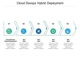 Cloud Devops Hybrid Deployment Ppt Powerpoint Presentation Pictures Slide Download Cpb