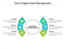 Cloud Digital Asset Management Ppt Powerpoint Presentation Infographic Template Slides Cpb