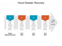 Cloud Disaster Recovery Ppt Powerpoint Presentation Icon Images Cpb