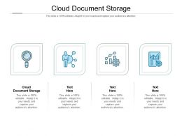 Cloud Document Storage Ppt Powerpoint Presentation Professional Example Topics Cpb