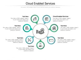 Cloud Enabled Services Ppt Powerpoint Presentation Gallery Layouts Cpb