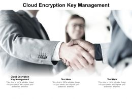 Cloud Encryption Key Management Ppt Powerpoint Presentation Gallery Skills Cpb