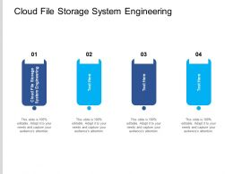 Cloud File Storage System Engineering Ppt Powerpoint Example Cpb