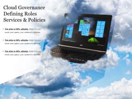 Cloud Governance Defining Roles Services And Policies