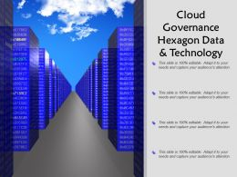 Cloud Governance Hexagon Data And Technology