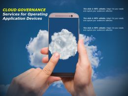 Cloud Governance Services For Operating Application Devices