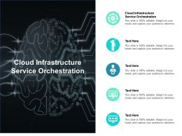 Cloud Infrastructure Service Orchestration Ppt Powerpoint Presentation Pictures Information Cpb