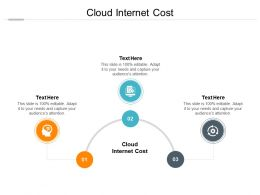 Cloud Internet Cost Ppt Powerpoint Presentation Show Graphics Example Cpb