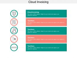 Cloud Invoicing Ppt Powerpoint Presentation Infographics Microsoft Cpb