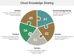 Cloud Knowledge Sharing Ppt Powerpoint Presentation File Good Cpb