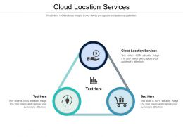 Cloud Location Services Ppt Powerpoint Presentation Slides Samples Cpb
