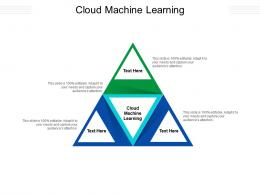 Cloud Machine Learning Ppt Powerpoint Presentation Slides Samples Cpb