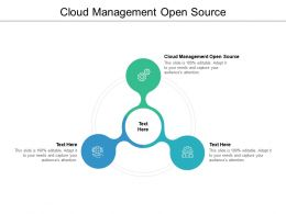 Cloud Management Open Source Ppt Powerpoint Presentation Portfolio Infographic Cpb