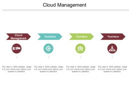 Cloud Management Ppt Powerpoint Presentation File Tips Cpb