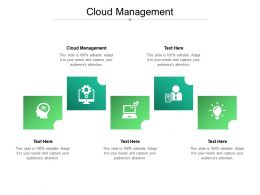 Cloud Management Ppt Powerpoint Presentation Layouts Slide Portrait Cpb