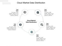 Cloud Market Data Distribution Ppt Powerpoint Presentation Outline Ideas Cpb