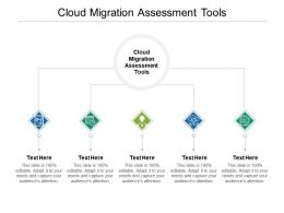 Cloud Migration Assessment Tools Ppt Powerpoint Presentation Outline Layouts Cpb