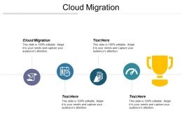 Cloud Migration Ppt Powerpoint Presentation File Icon Cpb