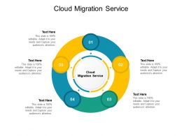 Cloud Migration Service Ppt Powerpoint Presentation Styles Portfolio Cpb