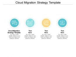 Cloud Migration Strategy Template Ppt Powerpoint Presentation Professional Structure Cpb