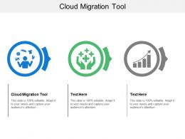 Cloud Migration Tool Ppt Powerpoint Presentation Slides Ideas Cpb