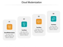 Cloud Modernization Ppt Powerpoint Presentation Infographics Graphic Tips Cpb