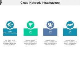 Cloud Network Infrastructure Ppt Powerpoint Presentation Images Cpb