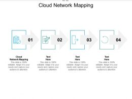 Cloud Network Mapping Ppt Powerpoint Presentation Slides Portrait Cpb