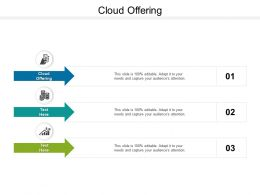 Cloud Offering Ppt Powerpoint Presentation File Design Templates Cpb
