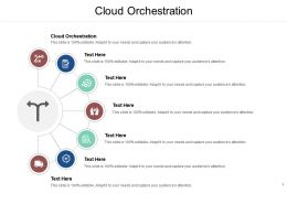Cloud Orchestration Ppt Powerpoint Presentation Portfolio Design Inspiration Cpb