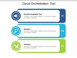 Cloud Orchestration Tool Ppt Powerpoint Presentation File Layout Cpb