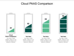 Cloud PAAS Comparison Ppt Powerpoint Presentation Gallery Show Cpb