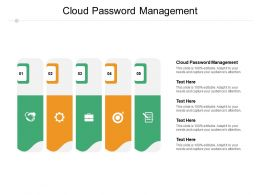Cloud Password Management Ppt Powerpoint Presentation Gallery File Formats Cpb