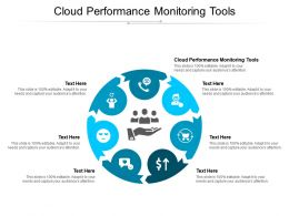 Cloud Performance Monitoring Tools Ppt Powerpoint Presentation Layouts Layout Cpb