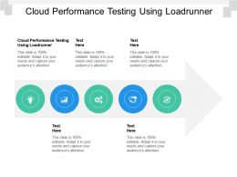 Cloud Performance Testing Using Loadrunner Ppt Powerpoint Presentation Layouts Ideas Cpb