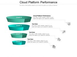 Cloud Platform Performance Ppt Powerpoint Presentation Outline Summary Cpb
