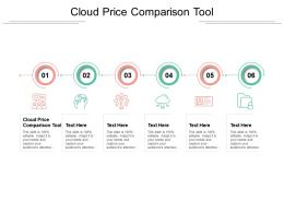 Cloud Price Comparison Tool Ppt Powerpoint Presentation Slide Cpb