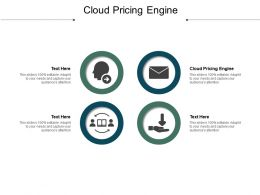 Cloud Pricing Engine Ppt Powerpoint Presentation Styles Icons Cpb