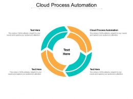 Cloud Process Automation Ppt Powerpoint Presentation Infographic Template Graphic Images Cpb