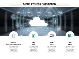 Cloud Process Automation Ppt Powerpoint Presentation Pictures Layouts Cpb