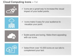 Cloud Process Control With In Building Connection Safety Connection Ppt Icons Graphics