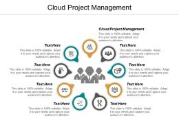 Cloud Project Management Ppt Powerpoint Presentation Slides Graphics Template Cpb
