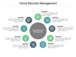 Cloud Records Management Ppt Powerpoint Presentation Inspiration Show Cpb